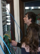 Nos 6QTI à l'IESN : atelier CISCO